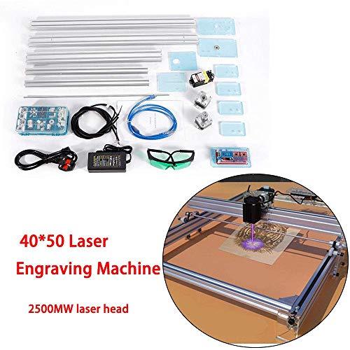 HYLH Machine à découper DIY Kit 2500mW Graveur USB Carver CNC Imprimante Las/ER 40 * 50CM