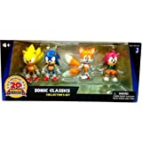 Sonic 20th Anniversary Exclusive Classics Action Figure 4 Pack