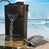 Aquarium Internal Filter with Triple filtration functions Suitable for Low Water Level
