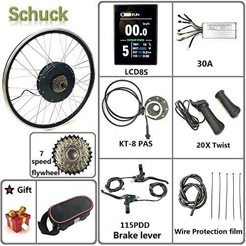 Schuck Bicicleta eléctrica de Rueda Tra
