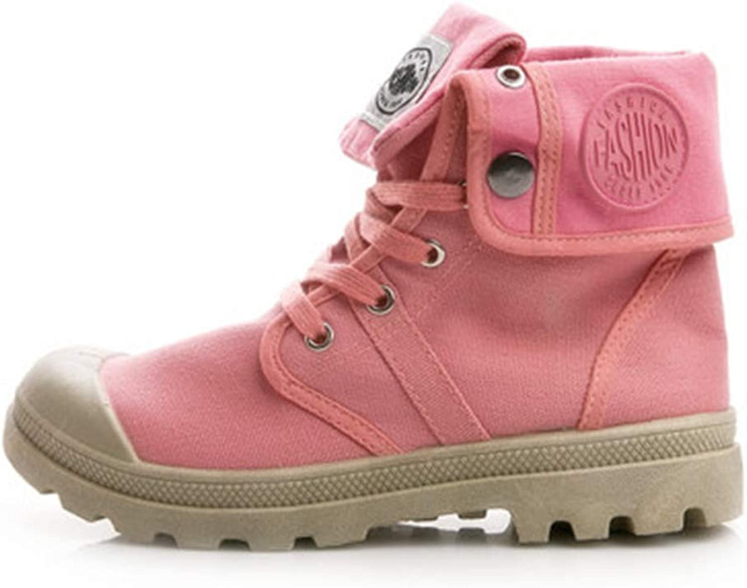 pink town Women's Non-Slip Breathable,Side fold wear-Resistant Popular high-top shoes