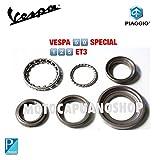 Serie Kit Tapacubos superiores inferiores Vespa 125Et3Primavera 50Special