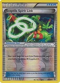 Pokemon - Sceptile Spirit Link (80/98) - Ancient Origins - Reverse Holo