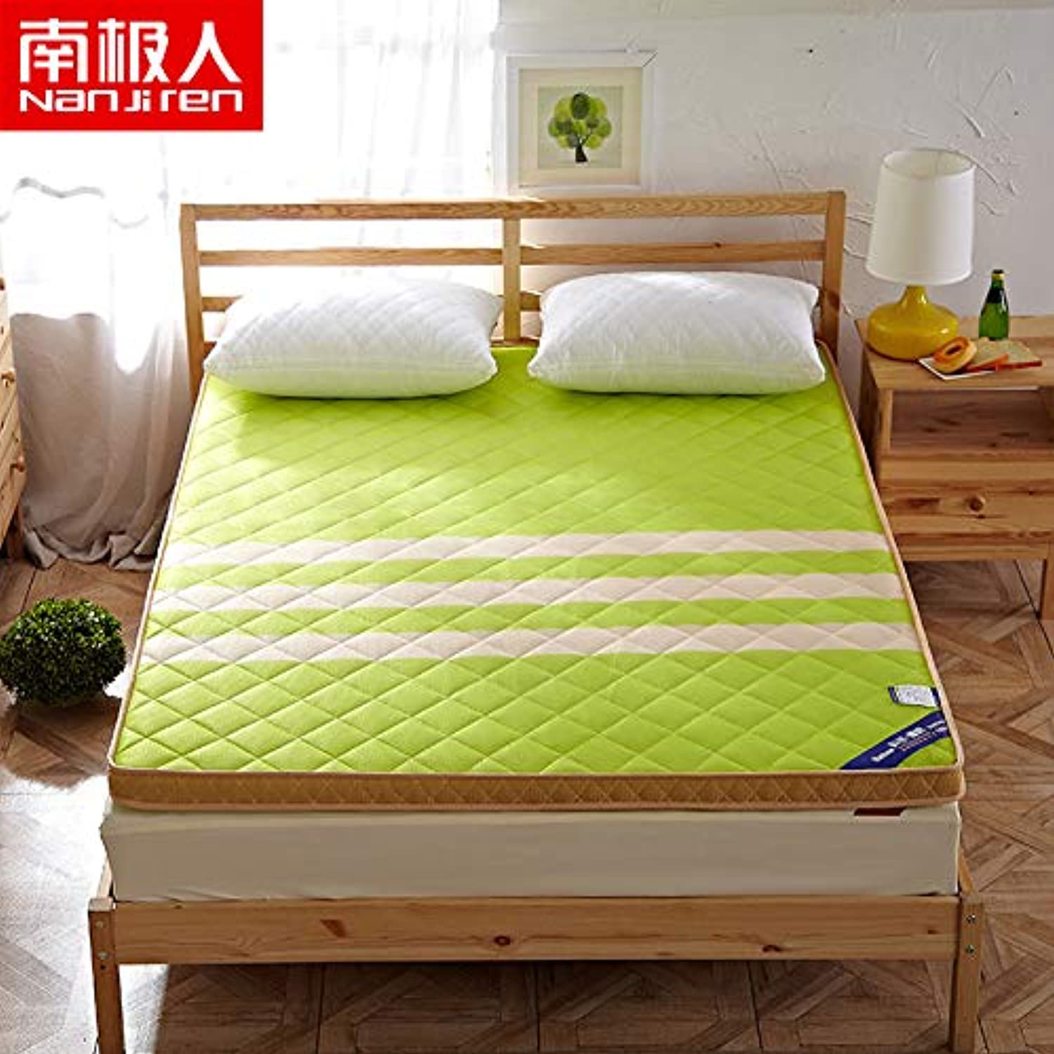 The New Four Seasons General Thicker Sandwich Mattress Tatami Sleeping on a Comfortable Mattress Breathable mesh Floor Mattress