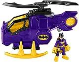 Fisher-Price Imaginext DC Super Friends Legends of Batman, Batgirl Helicopter - Figures, Multi Color