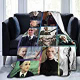 PARROT BEEK Draco-Malfoy Throw Blanket for Bed Sofa Living Room Travelling Blankets (40x50/50x60/60/80) Inch
