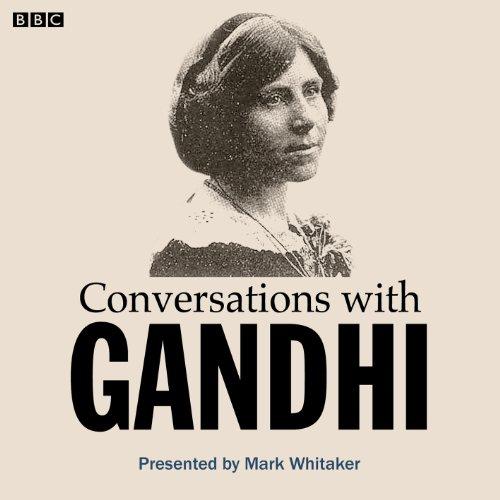 Conversations with Gandhi audiobook cover art