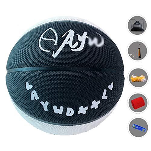 Great Price! YE ZI Basketballs- Standard Basketball Indoor and Outdoor No. 7 Basketball Size 9.7 inc...