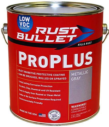 Rust Bullet ProPLUS (Gallon) Rust Preventive Coating, UV Resistant - No Topcoat Needed