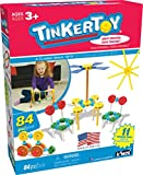 TINKERTOY – Little Constructor's Building Set – 84...