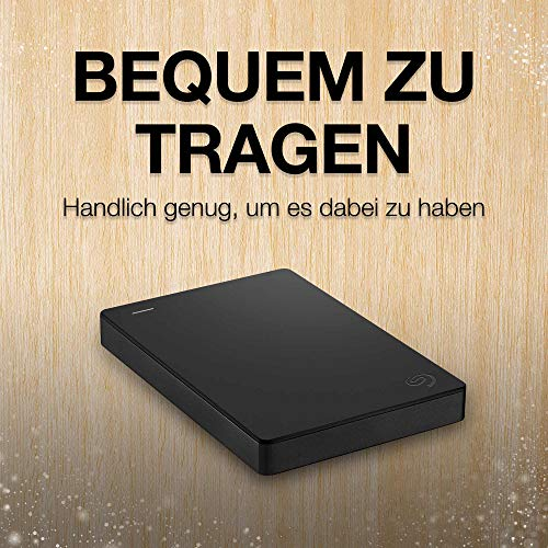 Seagate Portable Drive 5000 GB, tragbare externe Festplatte 5 TB, 2.5 Zoll, USB 3.0, PC, Notebook, Xbox & PS4, inkl. 2 Jahre Rescue Service, Modellnr.: STGX5000400