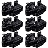 LEONLITE Low Voltage Landscape Lighting Wire Connectors, Landscape Cable Splice Connector, Connector Tools & Accessories, UL Listed Cable Connector, Pack of 6