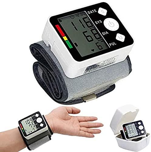 Polso di assistenza sanitaria BP BP Pressure Misuratore Monitor Monitor Tester Pressione sanguigna Polsino Sfigmomanometro MEDICO Tonometer