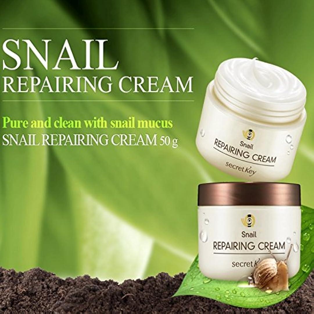 オートメーション単位夫婦Secret Key Snail Repairing Cream Renewal 50g /シークレットキー スネイル リペアリング /100% Authentic direct from Korea/w 2 Gift sample [並行輸入品]