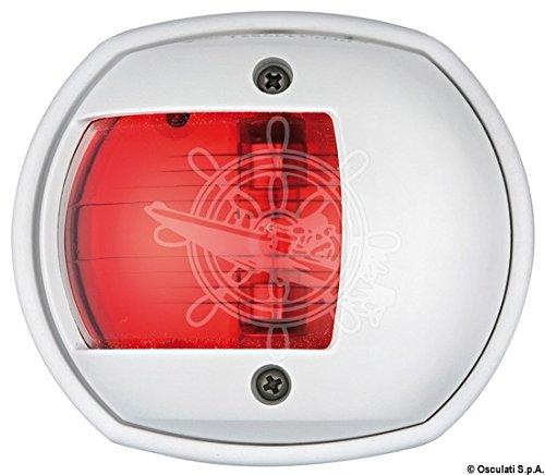 OSCULATI 11.408.11 Luci di Via Compact 12, Rossa, 112.5