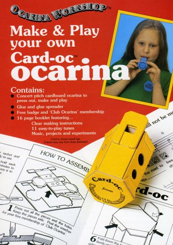Make and Play Your Own Card-oc(R) Ocarina