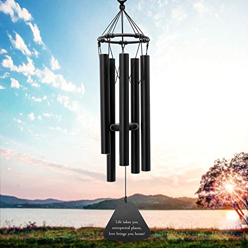ASTARIN Wind Chimes for Outside, Memorial Wind Chimes Outdoor, Gifts for Housewarming/Christmas/Mother, Sympathy Wind-Chime Personalized, Elegant Chime for Garden Patio Balcony and Home