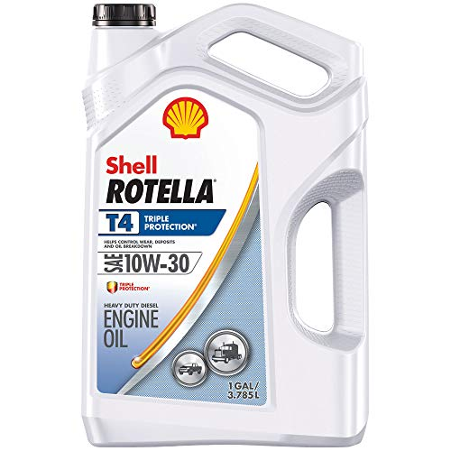 Shell Rotella T4 Triple Protection Conventional Oil