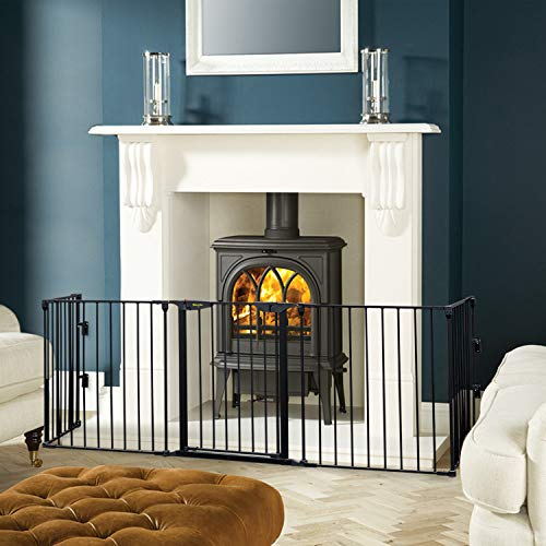 Baby proofing fireplace