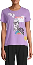 Marc Jacobs Graphic Short-Sleeve Cotton Tee S/P Light Purple