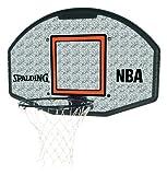Spalding Basketballkorb NBA Composite Fan Backboard Badminton Board, weiß/Grau, 1