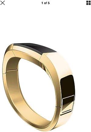 Fitbit alta Luxe yedek kayış Unisex tek beden altın