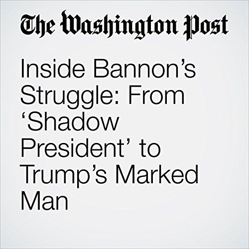 Inside Bannon's Struggle: From 'Shadow President' to Trump's Marked Man copertina
