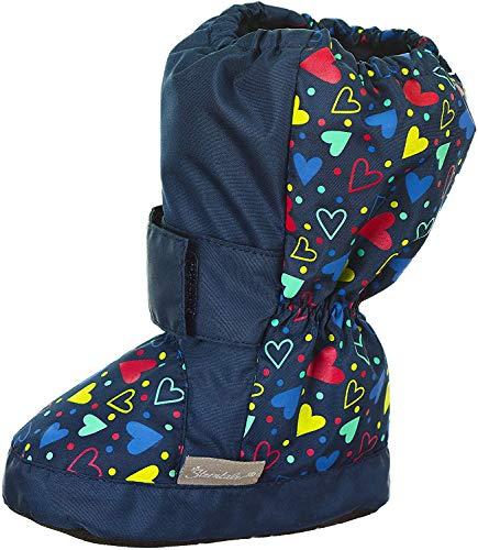 Sterntaler Jungen Mädchen Baby-Schuh Stiefel, Blau (Marine 300), 24 EU