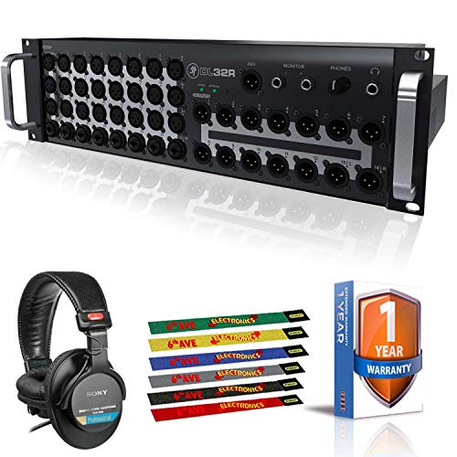 Best Review Of Mackie DL32R 32-Channel Wireless Digital Live Sound Mixer with Professional Headphone...