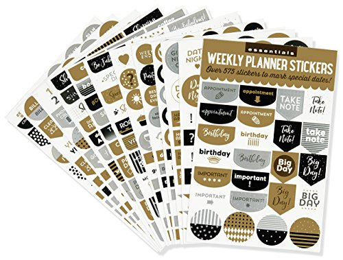 ESSENTIALS WEEKLY PLANNER STIC