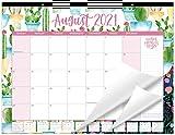 bloom daily planners 2021-2022 Academic Year Desk/Wall Monthly Calendar Pad (August 2021 - July 2022) - Large 21' x 16' Hanging or Desktop Blotter - Seasonal
