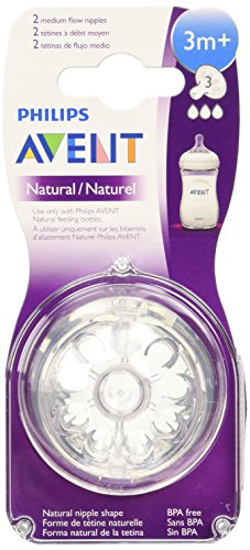 Philips AVENT『Natural Teat(Slow Flow)』