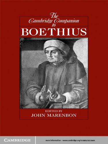 The Cambridge Companion to Boethius (Cambridge Companions to Philosophy) (English Edition)