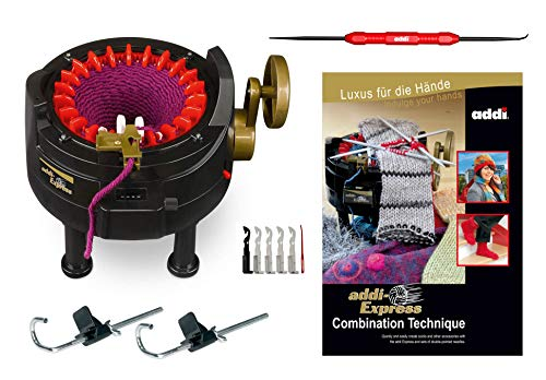 New Improved Version Of addi Express Professional Knitting Machine Extended Edition With Improved...