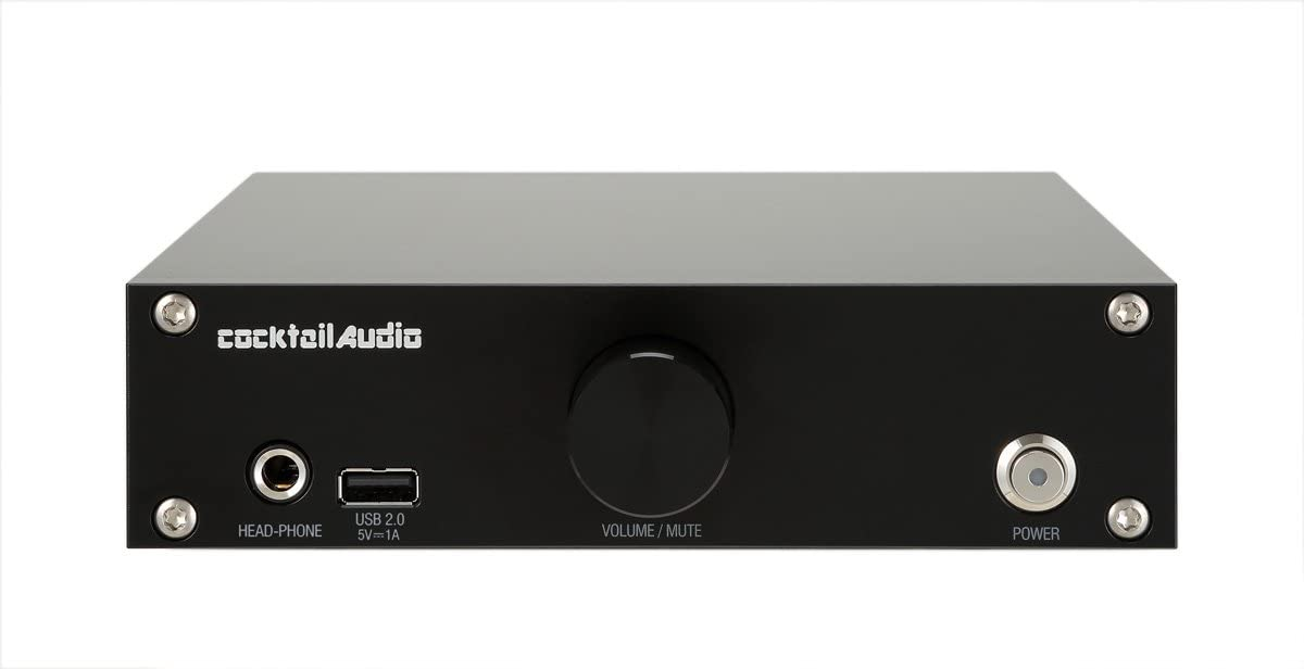 Cocktail Audio N15D Roon Ready Network Music Streamer Roon Ready (Black)