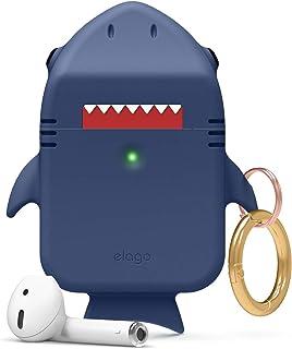 Elago Shark Case for Apple Airpods - Jean Indigo