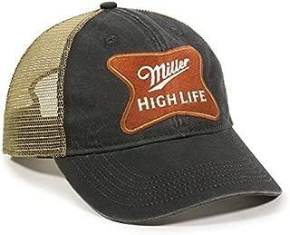 Miller High Life Unstructured Mesh Back Cap
