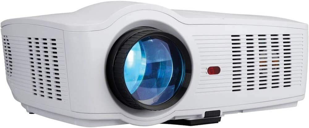 RCA Roku Smart Limited time trial price Android Wi-Fi HD Max 66% OFF Home RPJ138 Projector LED