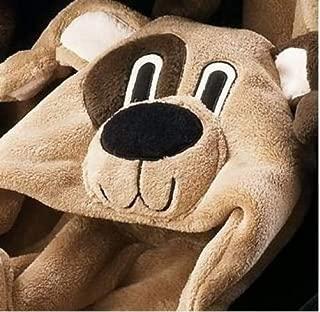 Berkshire Blanket Cuddly Buddies Hooded Wrap Throw (Cuddly Buddy Pup)