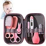 Vecksoy Set de cuidado para bebés de 8 piezas para recién nacidos, con equipamiento básico para bebés