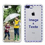 MXCUSTOM Coque Personnalisée Apple iPhone 8 Plus iPhone 7 Plus, Personnalisable avec Votre Propre...