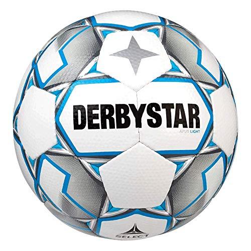 Derbystar Unisex Jugend Apus Light Trainingsball, Weiss, 5