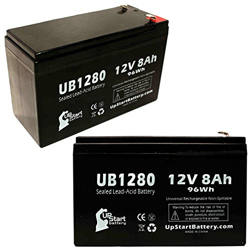 Kung Long WP1236W 12V 9Ah Sealed Lead Acid Battery Replacement with F1 Terminals VRLA Battery