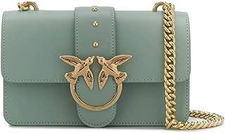 Luxury Fashion | Pinko Womens 1P21R4Y5FFT31 Green Shoulder Bag |
