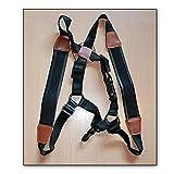 Imbracatura per sax alto, baritono (universale), sassofono contralto, sax tenore. Imbracatura in pelle Soundman®. Tracolla deluxe per sassofono – (Taglia: S)
