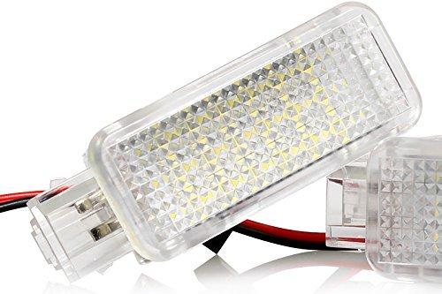 1x LED Fußraumbeleuchtung Kofferraumbeleuchtung Türeinstiegsleuchten Schminkspiegel Handschuhfach Canbus Plug&Play