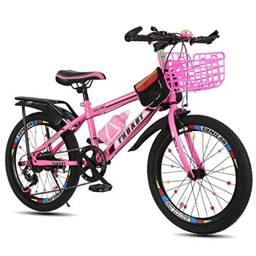 Bicicletas Triciclos Niño / 18 Pulgadas / 20 Pulgadas / 22 Pulgadas Niño Niña Viaje del Estudiante 5~15 Años De Edad Aire Libre Viaje De Primavera Verano