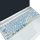 "Keyboard Cover for HP Envy x360 15.6''Series,2020 2019 HP Pavilion 15/Pavilion x360 15.6"" Series,HP Envy 17 17.3' Series,HP Laptop 15t 17t 17-by0040nr 17-ca0011nr ,Cute Cat"