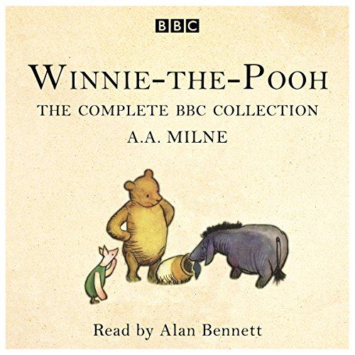 Winnie-the-Pooh cover art, drawings of (L-R) Piglet, Pooh, and Eeyore.