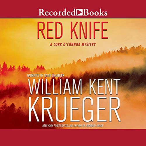 Red Knife audiobook cover art